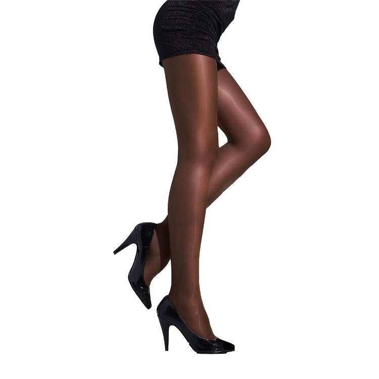 7acf1978ac1 ... Andrea Bucci 15 Denier Lace Gloss Luxury High Sheen Tights -  Leggsbeautiful