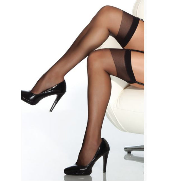 Coquette Sheer Thigh High Stockings
