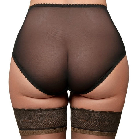 Nylon Dreams 4 Way Stretch Sheer Mesh Knickers - Leggsbeautiful