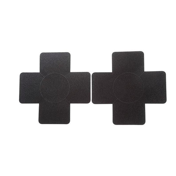 Cross Shaped Adhesive Nipple Covers - Leggsbeautiful