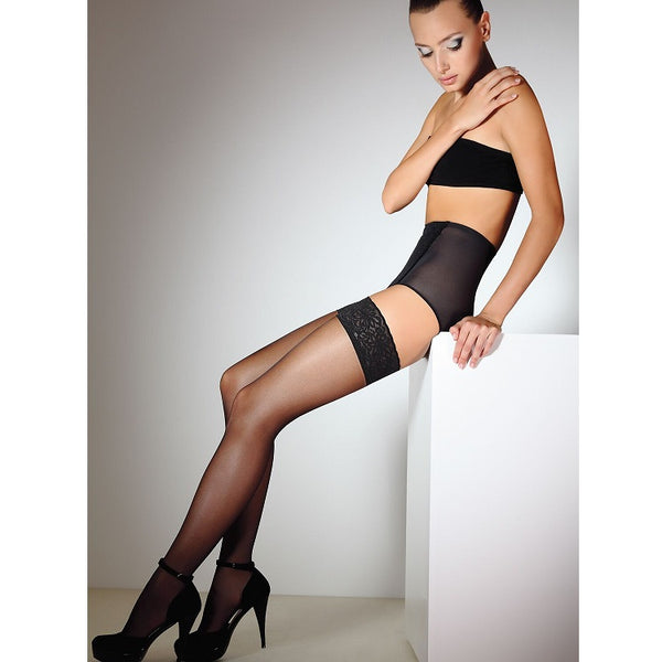 Giulia Emotion 20 Denier Hold Ups - Leggsbeautiful