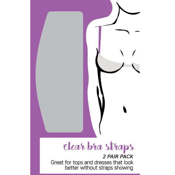 Eve's Bra Clear Adjustable Bra straps [2 Pairs]