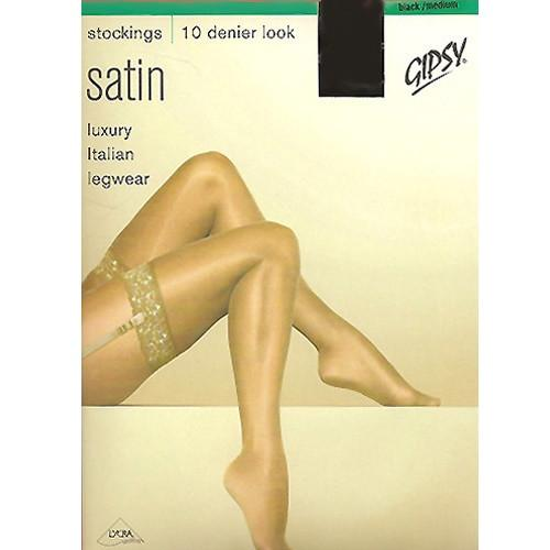 Gipsy 10 Denier Lace Top Satin Sheer Luxury Stocking - Leggsbeautiful