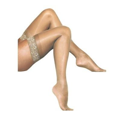 Gipsy 10 Denier Lace Top Satin Sheer Luxury Hold Ups - Leggsbeautiful