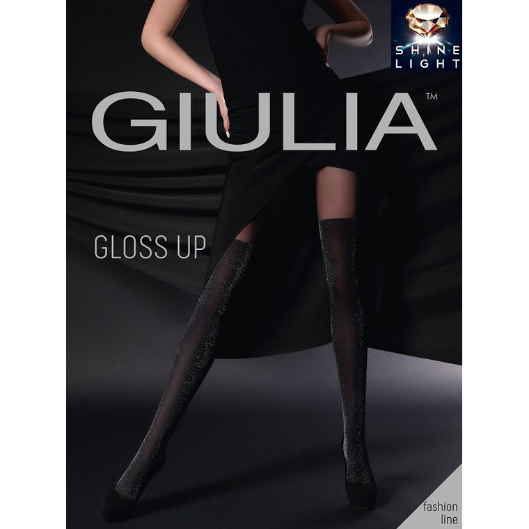 Giulia Gloss Up 60 Denier Lurex Shimmer Tights
