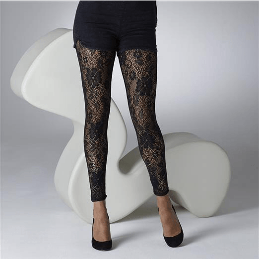 GIPSY FLOWER LACE CUT AND SEWN LEGGING