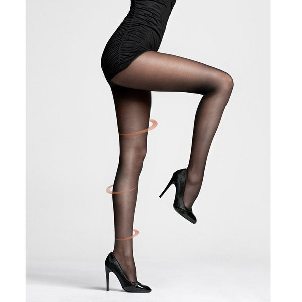 Pretty Legs 20 Denier Sheer Revitalizer Support Tights - Leggsbeautiful