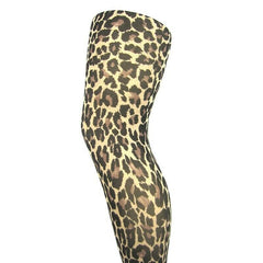 Leggsbeautiful 70 Denier Opaque Leopard Print Tights - Leggsbeautiful