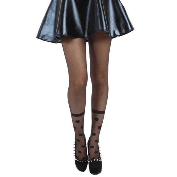Pamela Mann Sheer Mock Sock Tights - Leggsbeautiful