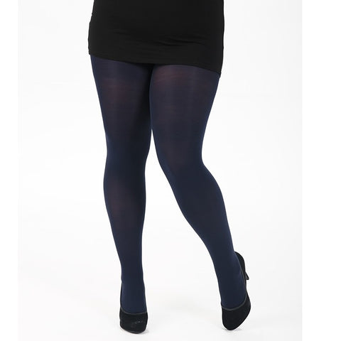 Pamela Mann Fuller Figure 120 Denier Opaque Tights - Leggsbeautiful