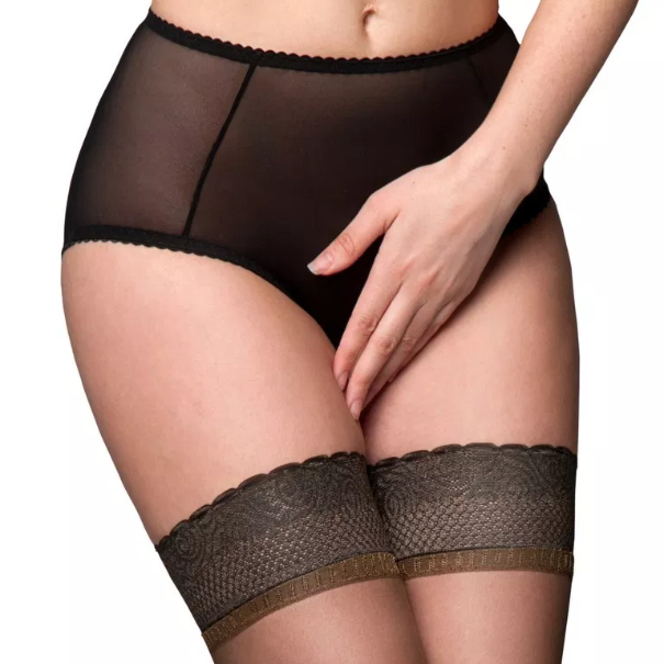 Nylon Dreams Sheer Crotchless Betty Knickers