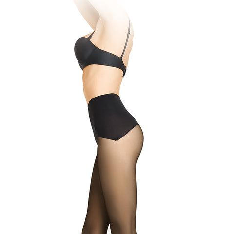 Gatta Talia Comfort 30 Denier Sheer Tights - Leggsbeautiful