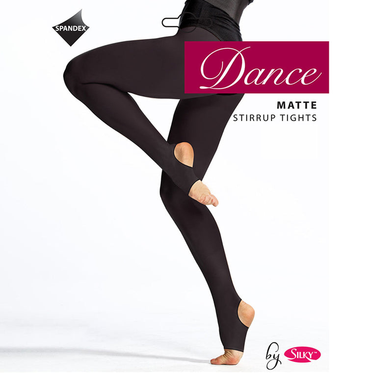 Silky Adults Matte Stirrup Dance Tights