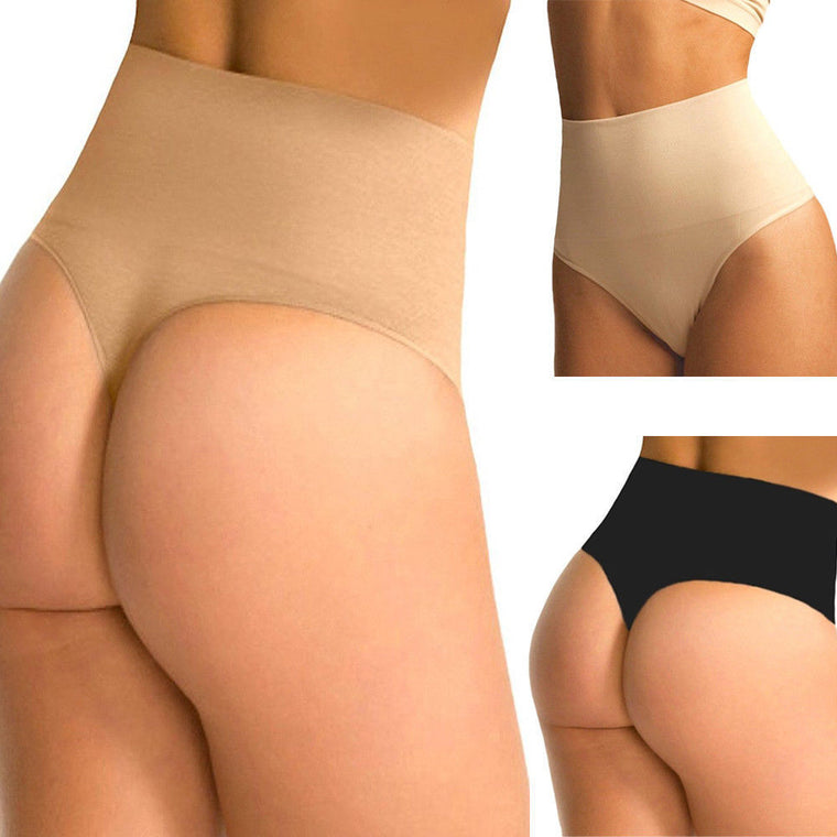 Mid Rise Firm Control Thongs Shaper