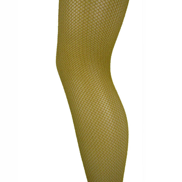 Leggsbeautiful Lurex Glitter Fishnet Tights - Leggsbeautiful