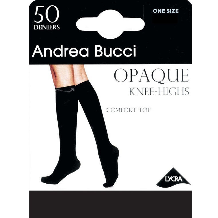 Andrea Bucci 50 Denier Comfort Top Knee High
