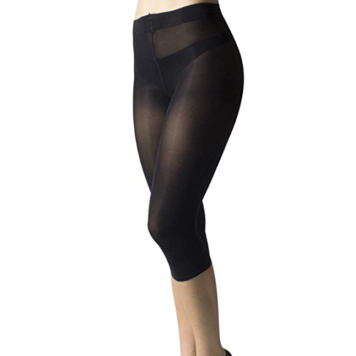 Gabriella 60 Denier Semi-Opaque Cropped Leggings