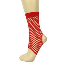 Leggsbeautiful Fishnet Stirrup Ankle Socks - Leggsbeautiful