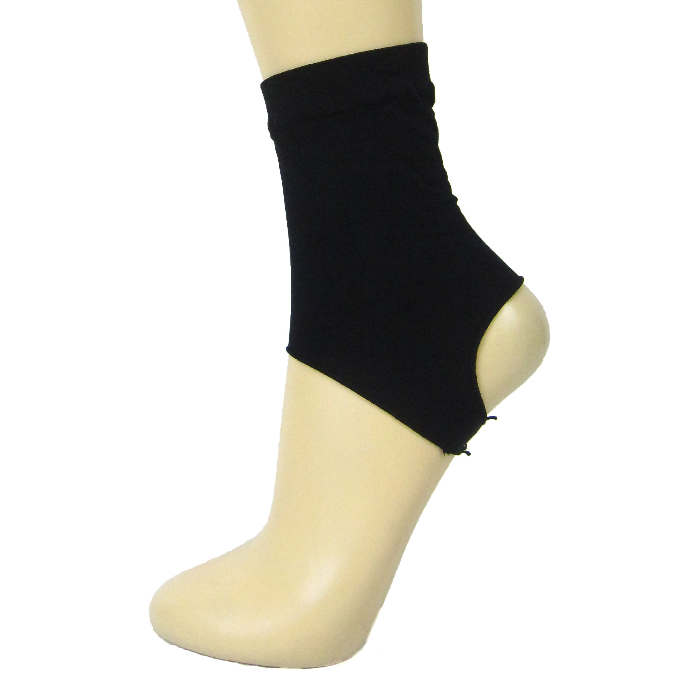Leggsbeautiful Opaque Nylon Stirrup Ankle Socks - Leggsbeautiful