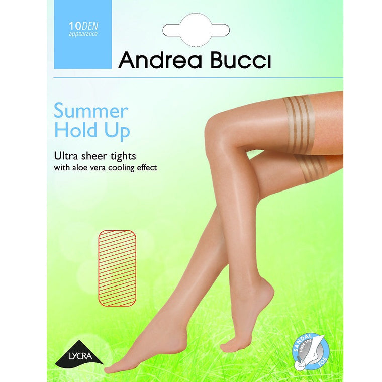Andrea Bucci Ultra Sheer 10 Denier Summer Hold Ups