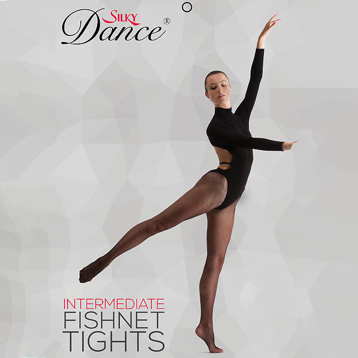 Silky Dance Childrens Fishnet Tights