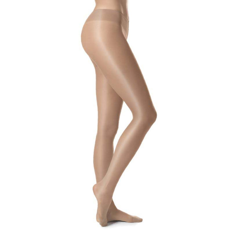 Silky 15 Denier Sheer Glossy Tights [Shiny]