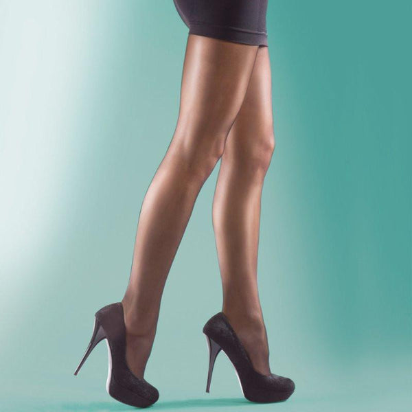 Silky Sheer Hi Shine Glossy Tights - Leggsbeautiful