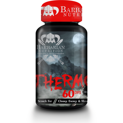 Barbarian Nutrition Thermo-Axe (60 caps), Fat burner, Barbarian Nutrition, Legion Health (Pty)Ltd