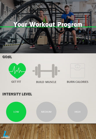 Get Fit Low Intensity Workout Program
