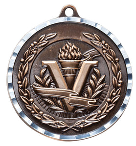"Medallas - 2"" (Diamond Cut)"