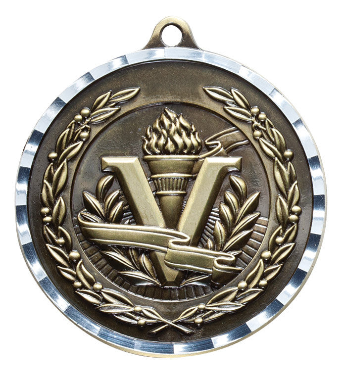 "Medallas - 2 3/4"" (Diamond Cut)"