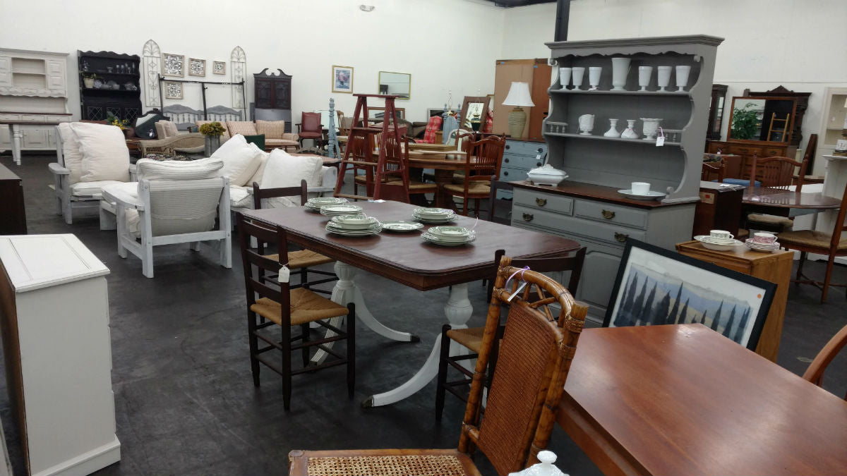 main street used furniture sales floor