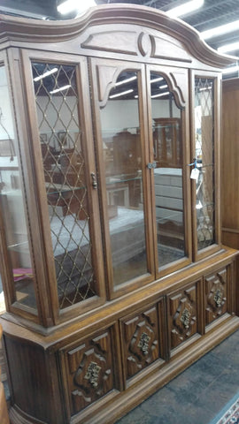 Mahogany Hutch - Main Street Furniture Outlet
