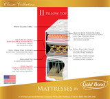 Gold Bond Classic II 10 Inch Pillow Top Mattress & Box Spring - Main Street Furniture Outlet
