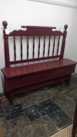Custom Made Purple Bench - Main Street Furniture Outlet