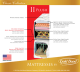 Gold Bond Classic II 10 Inch Plush Mattress & Box Spring - Main Street Furniture Outlet