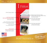 Gold Bond Classic I Firm Mattress - Main Street Furniture Outlet