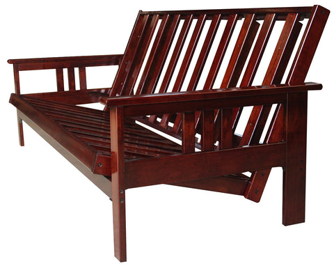 Java Wood Full Futon Frame - Main Street Furniture Outlet