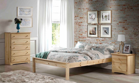 Low Low Mission Pine Platform Bed - Main Street Furniture Outlet