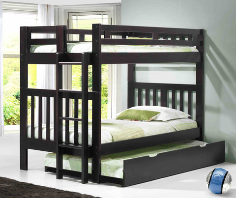 Innovations Naples Bunk Bed With Short Ladder - Main Street Furniture Outlet