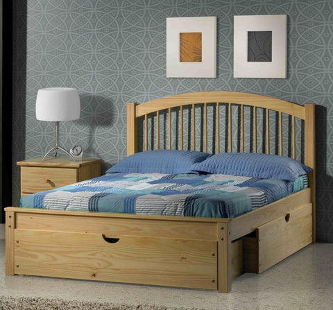 Innovations Orleans Pine Platform Bed - Main Street Furniture Outlet