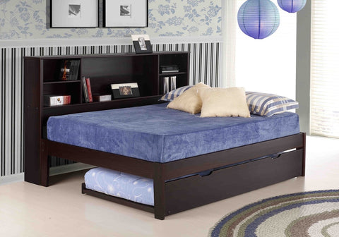 Sicily Long Bookcase Headboard - Main Street Furniture Outlet