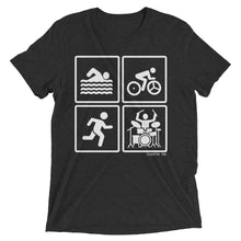 SBR Drummer Short Sleeve Tri-blend Shirt