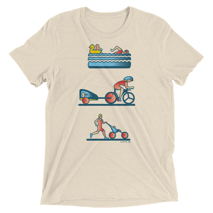 Tri Mama Short Sleeve Tri-blend Shirt