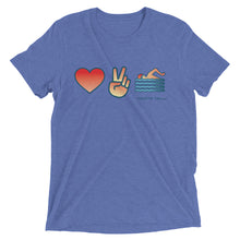 Love to Swim Short Sleeve Tri-blend Shirt