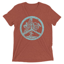 Triathlon Peace Short Sleeve T-shirt