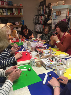 Pictures of the last Cupcake decorating course