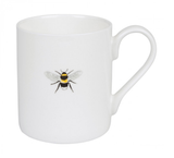 Sophie allport bone china mug bees bee design standard mug green mug bees mug british made stoke on trent china stoke china local china