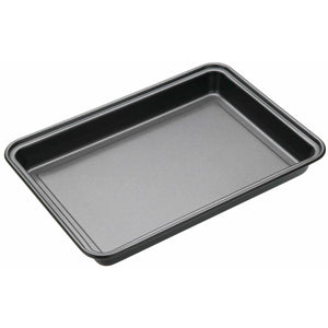 Brownie tin traybake tin flapjack tin swiss roll tin masterclass non-stick baking tin non stick baking tray