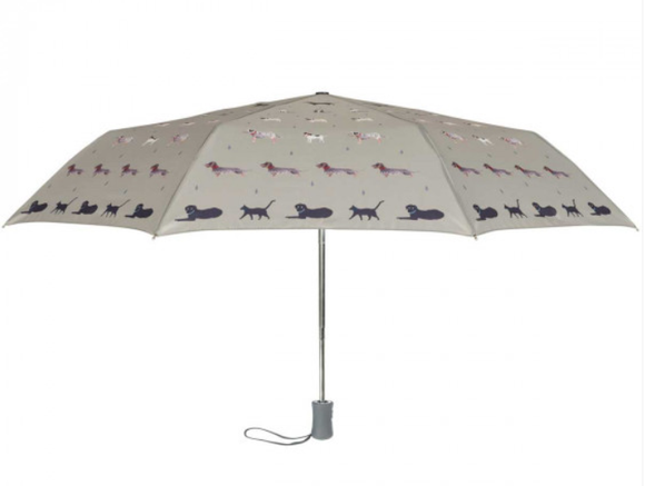 'Raining Cats and Dogs' Umbrella